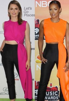 Style Showdown: Three Stars Get Decked Out in Roksanda Ilincic's Cut-Out Jumpsuit and More Matching Celebs