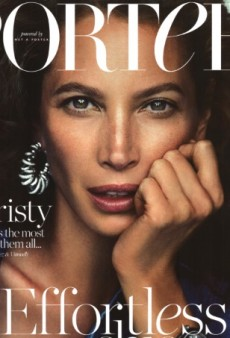 Effortlessly Chic: Christy Turlington Is Porter's Winter 2014 Cover Star (Forum Buzz)