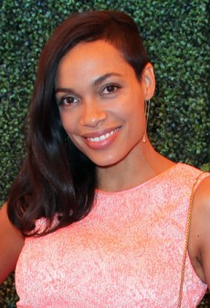 Here's How to Fake Rosario Dawson's Half-Shaved Hair Look