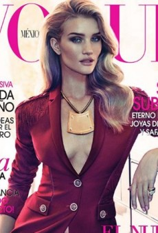 Rosie Huntington-Whiteley Vamps It Up for Vogue Mexico's November Cover (Forum Buzz)