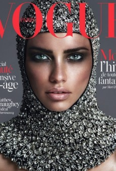 Adriana Lima Looks Ready for Battle on Vogue Paris' November Cover (Forum Buzz)