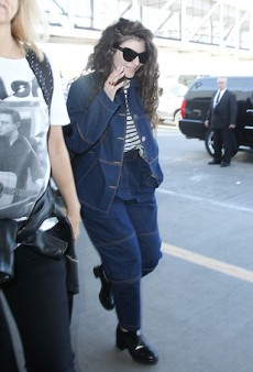 Lorde Suffers a Double-Denim Disaster at LAX