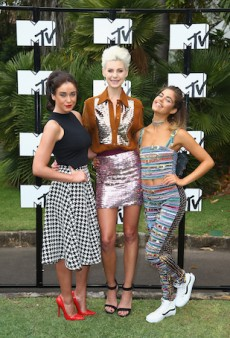 Glitter and Houndstooth at the MTV Australia Style Launch