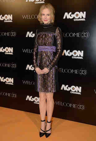 Nicole Kidman at the party Agon Channel ItalyMilanPh Claudio Mangiarotti