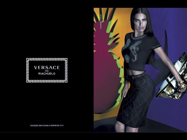Ad Campaign Versace x Riachuelo Adriana Lima Mert & Marcus