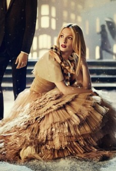 Burberry's Holiday Campaign: Who's That Girl?