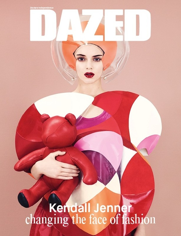 Dazed & Confused December 2014 Kendall Jenner