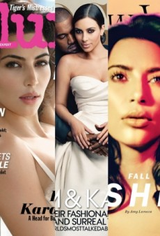 Flashback: Kim Kardashian's 5 Best Fashion Magazine Covers