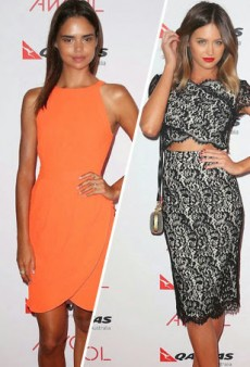 Jesinta Campbell, Samantha Harris Stun at AWOL Launch