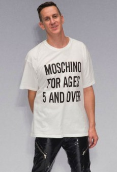 Jeremy Scott Says You Can Feel Any Way You Want About His Moschino Collections