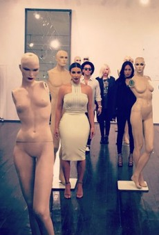 Did Kim Kardashian Just Try to Recreate Solange Knowles' Wedding Photos?