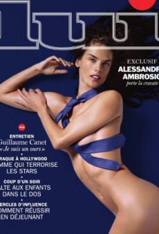 Do We Approve of Alessandra Ambrosio's Provocative Cover for Lui? (Forum Buzz)