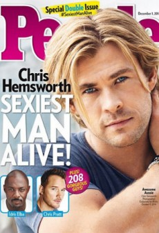Chris Hemsworth Is the Sexiest Man Alive