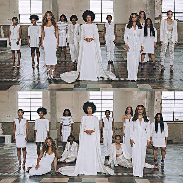 Did Kim Kardashian Just Try To Recreate Solange Knowles Wedding Photos
