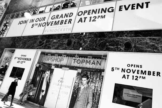 Topshop's Fifth Avenue Debut Is One Day Away