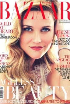 Reese Witherspoon Makes the Cover of UK Harper's Bazaar's January Issue (Forum Buzz)