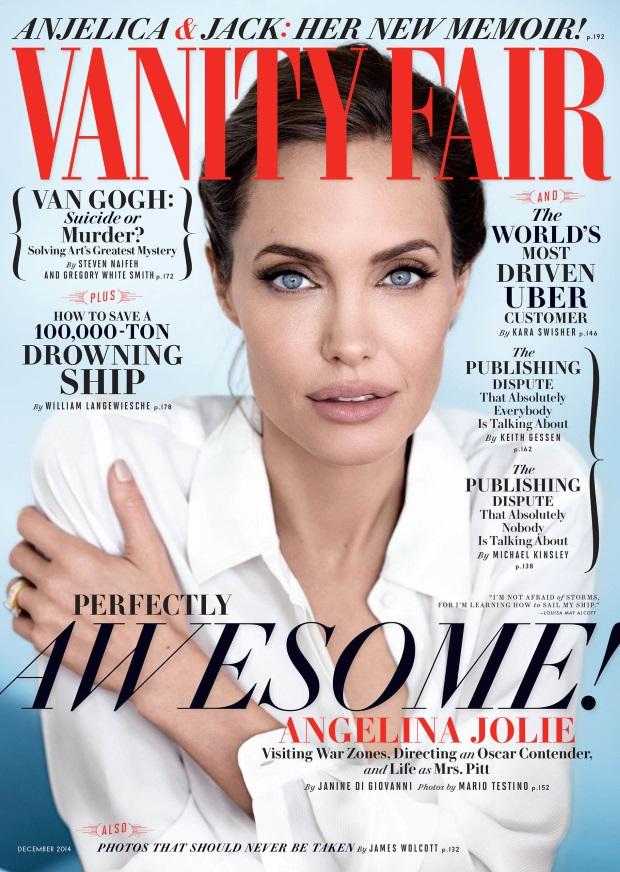 Vanity Fair December 2014 Angelina Jolie Mario Testino