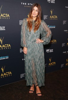 Charlotte Best Accepts AACTA Nomination in a Flowing Zimmermann Number