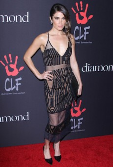 Nikki Reed Bares All in Sheer Shona Joy at Rihanna's First Annual Diamond Ball