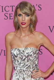Taylor Swift Shows Some Skin at the Victoria's Secret Fashion Show