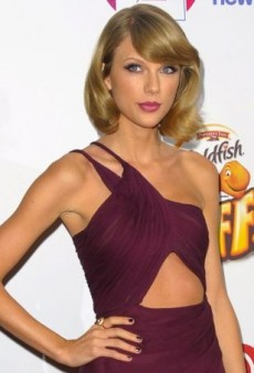 Taylor Swift Hits the Red Carpet in a Rich Reem Acra Dress
