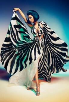 Nicki Minaj Fronts Roberto Cavalli's Spring 2015 Campaign