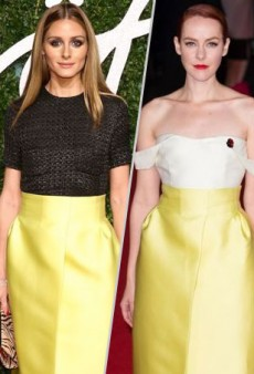 Style Showdown: Olivia Palermo and Jena Malone Top Off Emilia Wickstead's Yellow Skirt and More Matching Celebs