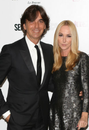 Frida Giannini and Patrizio di Marco; Image: WENN