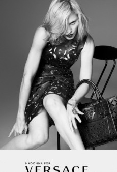 Madonna's Versace Campaign Is Not Airbrushed, According to Donatella Versace