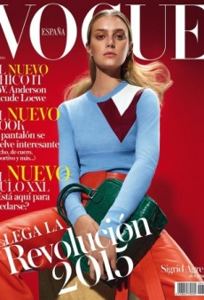 Vogue Spain's January Cover with Sigrid Agren 'Couldn't Get Any Cheaper' (Forum Buzz)