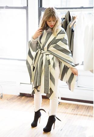DIY Wrap Coat; Image: Harper's Bazaar