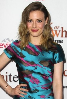 Gillian Jacobs Opts for Color at the 'Black or White' Premiere