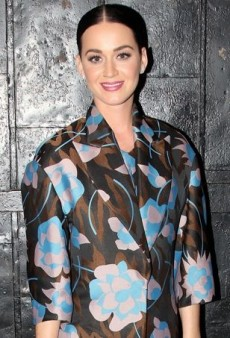 Katy Perry Gets Graphic Backstage in Marni
