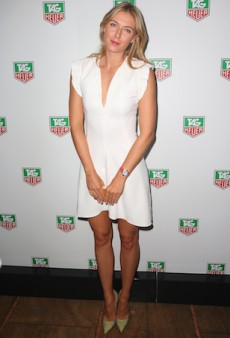 Maria Sharapova Parties with the Aussies at TAG Heuer's Summer Party