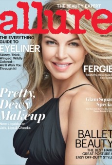 Did Allure Photoshop Fergie Into Oblivion on Its February Cover? (Forum Buzz)
