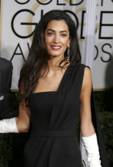 "Amal Clooney Has Best Answer Ever for ""What Are You Wearing?"""