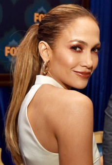Jennifer Lopez Perfects the Art of Marsala Makeup