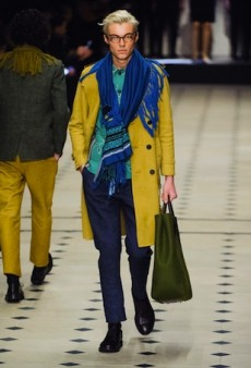 Burberry Prorsum Men's Fall 2015 Runway