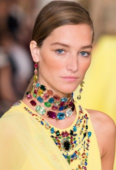 Spring Bling! 10 New Ways to Wear Chokers in 2015