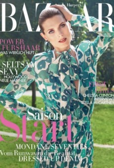 Harper's Bazaar Germany's February Cover Is Perfect for Spring (Forum Buzz)