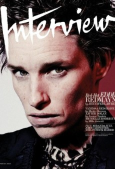 Golden Globe Winner Eddie Redmayne Stars on Interview's February Cover (Forum Buzz)