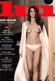 Marie Gillain's Lui Magazine Cover Upsets Forum Members (Forum Buzz)