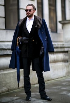 All the Best Street Style Looks from Outside London Collections: Men Fall 2015