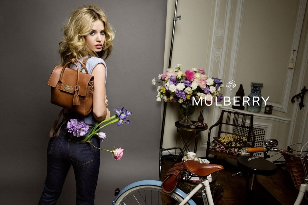 Ad Campaign Mulberry Spring 2015 Georgia May Jagger