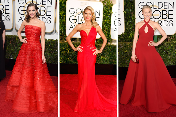 Allison Williams, Heidi Klum, Taylor Schilling; Image: Getty