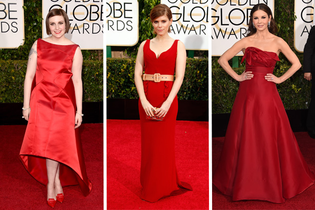 Lena Dunham, Kate Mara, Catherine Zeta-Jones; Image: Getty