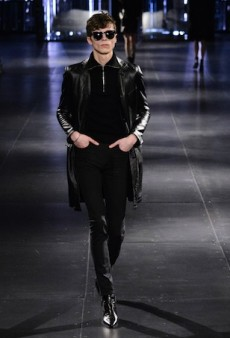 Saint Laurent Men's Fall 2015 Runway