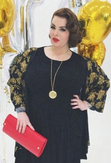 Size 22 Tess Holliday Makes Plus-Sized Modeling History