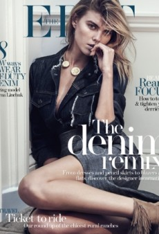 Who Doesn't Love Maryna Linchuk Wearing Double Denim for The Edit? (Forum Buzz)