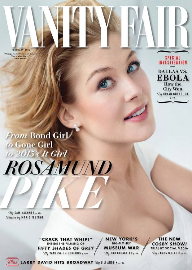 Vanity Fair February 2015 Rosamund Pike Mario Testino